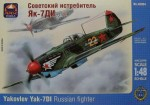 1-48-Yakovlev-Yak-7DI-WWII-Russian-fighter