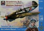 1-48-Yakovlev-Yak-9-Russian-fighter-ace-L-Marcel