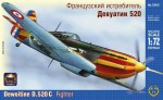 1-72-Dewoitine-D-520-and-1057-Fighter