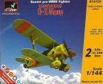 1-144-Polikarpov-I-15bis-Soviet-pre-WWII-fighter-2-sets-in-the-box