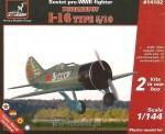 1-144-Polikarpov-I-16-type-5-10-Soviet-pre-WWII-fighter-2-sets-in-the-box