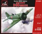 1-144-Polikarpov-I-16-type-24-Soviet-WWII-fighter-2-sets-in-the-box