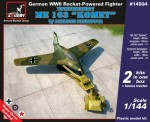 1-144-Messerschmitt-Me-163B-Komet-w-Scheuch-Schlepper-2-sets-in-the-box