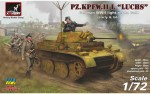 1-72-Pz-Kpfw-II-Ausf-L-Luchs-German-WWII-light-recon-tank-early-and-late