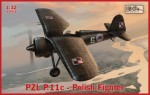 1-32-Back-in-stock-PZL-P-11c-Polish-Fighter-Several-Facts-about-the-kits