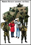 1-35-Modern-Russian-soldiers-and-Girls-9-figures-+-dog