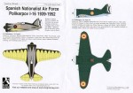 1-72-Polikarpov-I-16-2-Spanish-Nationalist-Air-Force-1939-52
