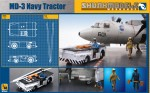 RARE-1-48-MD-3-NAVY-TRACTOR-SHORT-TYPE-with-3-figures