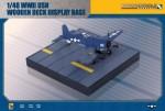 RARE-1-48-WWII-USN-Wooden-Deck-Display-Base-SALE