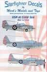 1-72-USN-at-Coral-Sea-Decals-for-10-different-aircraft-that-saw-combat-at-the