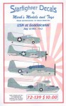 1-72-USN-at-Guadalcanal-Decals-for-14-different-aircraft-covering-4-USN-types