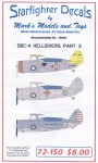 1-72-Curtiss-SBC-4-Helldiver-Part-4-Heller-or-Matchbox-kit-