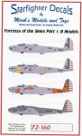 1-72-Fortress-of-the-Sky-Part-1-Boeing-B-17B-Flying-Fortress-Markings-for-4-different-B-17B
