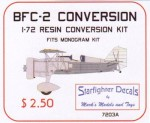 1-72-Curtiss-BFC-2-Conversion-for-Monogram-F11C-2-Kit-A-simple-C