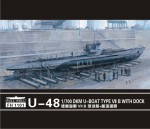 RARE-1-700-U-boat-Type-VII-B-DKM-U-481pieces+scene