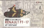 RARE-1-72-Renualt-FT-17-Light-TankCast-turret