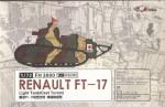 RARE-1-72-Renualt-FT-17-Light-TankCast-turret