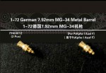 1-72-German-7-92mm-MG-34-Metal-Barrel
