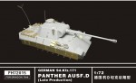 RARE-1-72-German-Sd-Kfz-171-PANTHER-AUSF-D