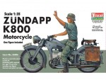 RARE-1-35-Zundapp-K800-Motorcycle-c-w-rider-figure
