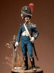 54mm-Light-Infantry-Officer-Kingdom-of-Naples-1813-15