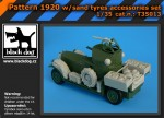 1-35-British-Armoured-Car-sand-tyres-RODEN