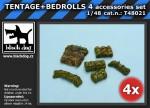 1-48-TENTAGE+BEDROLLS-4-accessories-set
