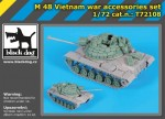 1-72-M-48-Vietnam-war-accessories-set-ITAL