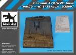 1-35-German-A7V-WWII-base-90x70-mm