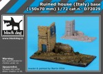 1-72-Ruined-house-Italy-base-150x70mm