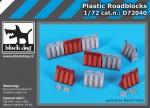 1-72-Plastic-roadblocks-9-pcs-