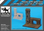 1-72-House-with-gate-base-150x90-mm