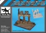 1-72-House-ruin-Europe-base-No-2-150x90-mm