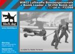 1-32-Luftw-WWII-personel+bomb-loader+SC250-Set