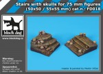 Stairs-with-skulls-for-75-mm-fig-50x50-55x55-mm