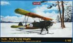 1-48-Focke-Wulf-Fw-44J-Stieglitz-w-skis-Finland