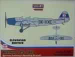 1-48-Klemm-Kl-25-d-VII-Slovakian-service