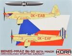 1-72-Be-50-Beta-Minor-Czechosl-Sporting-Aircraft