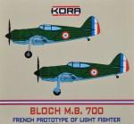 1-72-Bloch-M-B-700-French-Prototype