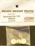 1-72-Wheels-for-Henschel-Hs-126-all-kits
