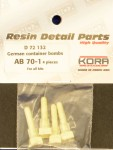 1-72-German-container-bombs-AB-70-1-4-pcs-