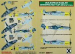 1-48-Decals-Messers-Bf-109-G-2-Strela-Bulgaria