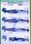 1-144-Decals-Bf-109G-6-Strela-Bulgarian-Eagles
