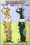 1-72-Decals-MC-200-SAETTA-Fight-Bombers-o-Sicily