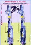 1-72-Decals-Ar-240-A-01-A-02-German-Reconais-Pt-1