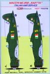 1-72-Decals-MC-200-SAETTA-Italian-ANR-Service