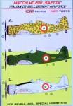 1-72-Decals-MC-200-SAETTA-Ital-Co-Belligerent-AF