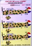 1-72-Decals-Fiat-CR-32-CHIRRI-Paraguayan-Service