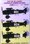 1-72-Decals-Fiat-CR-32-CHIRRI-National-Chinese-AF