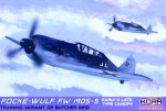 1-72-Fw-190S-5-Early-Late-canopy-5x-camo-ex-EDU